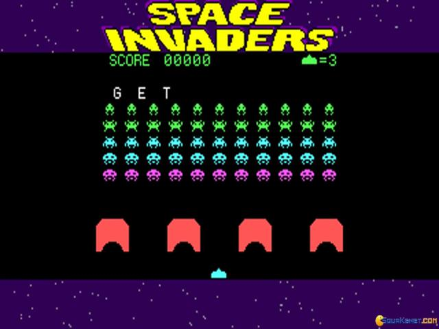 Space Invaders - title cover