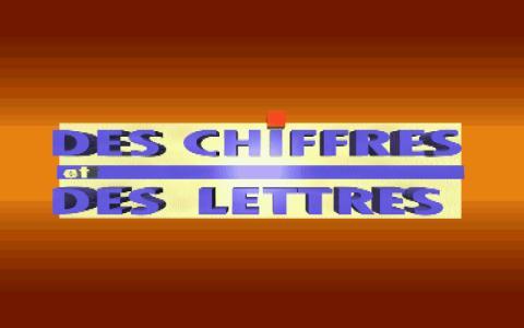 Des Chiffres et des Lettres - game cover