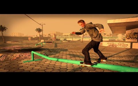 Tony Hawk's Pro Skater - title cover