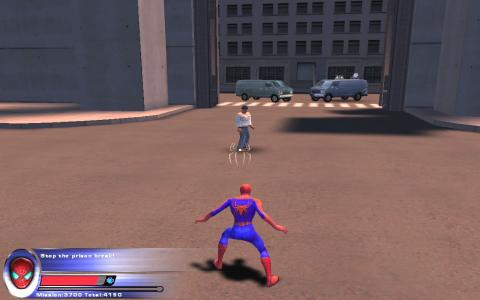 Spider-Man 2 - title cover