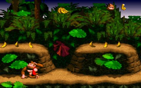 Donkey Kong Country - title cover