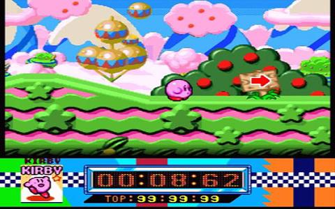 Kirby Super Star - title cover