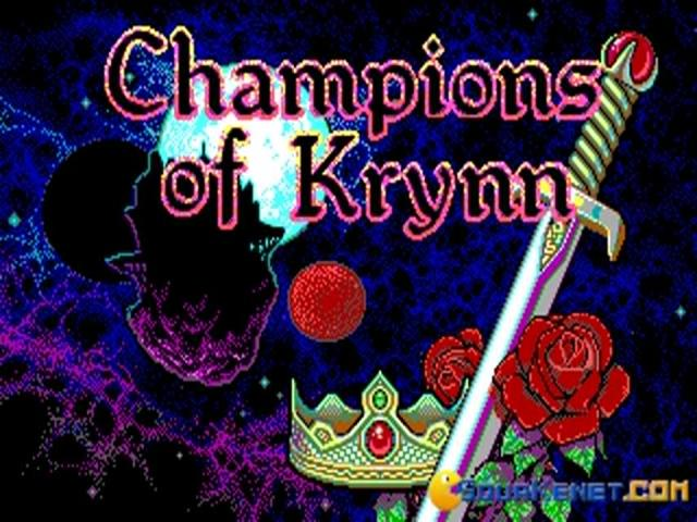 Champion of Krynn - title cover