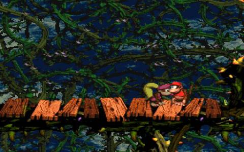 Donkey Kong Country 2 - title cover