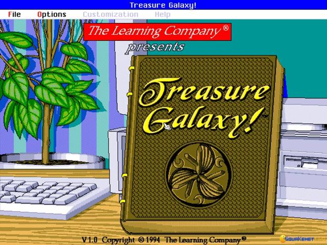 Treasure Galaxy - title cover