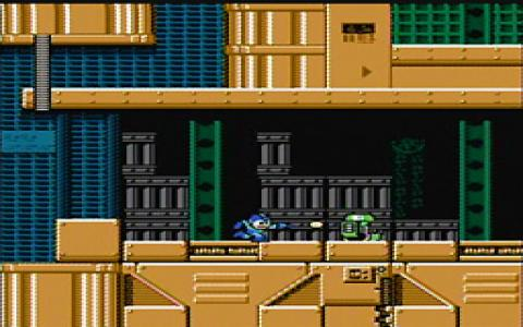 Mega Man 5 - title cover