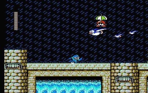 Mega Man 4 - title cover