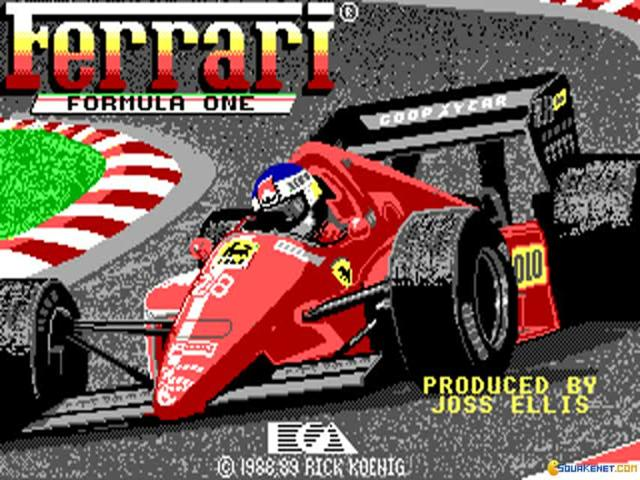 Ferrari Formula One - title cover