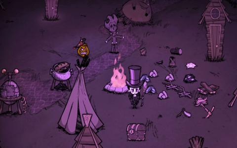 Don't Starve - title cover