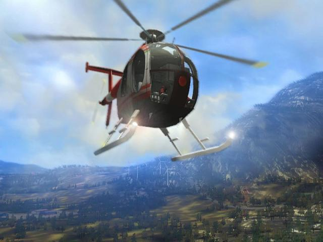 Helicopter Simulator: Search & Rescue - title cover