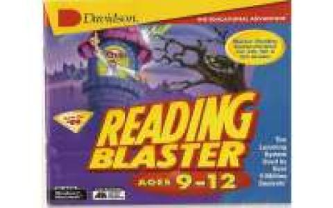 Reading Blaster 9-12 - game cover
