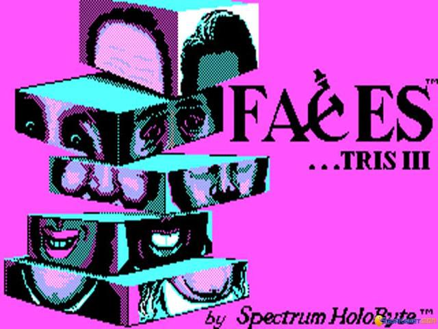 Faces - game cover