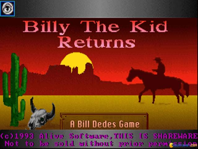 Billy The Kid Returns! - title cover