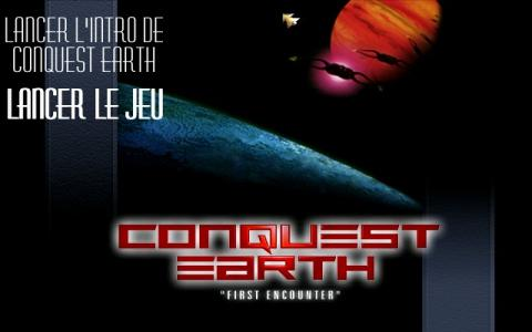 Conquest Earth: First Encounter - game cover