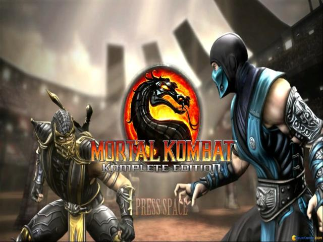 Mortal Kombat Komplete Edition - title cover