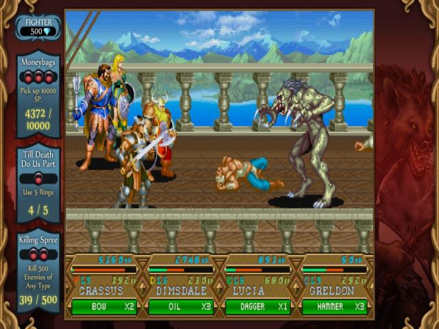 Dungeons & Dragons: Chronicles of Mystara - game cover