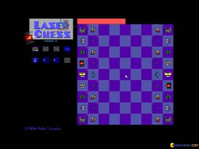 Laser Chess - title cover