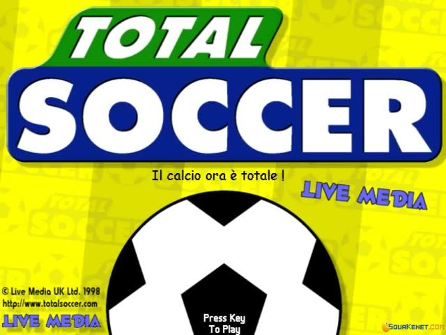 Total Soccer - title cover