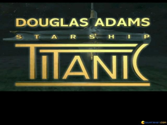 Starship Titanic - title cover