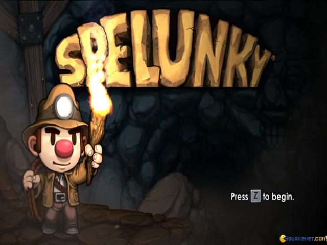 Spelunky - title cover