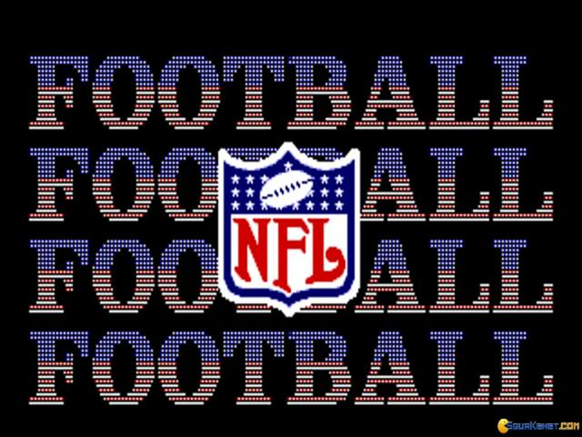 NFL 94 - title cover