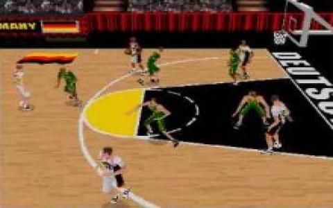 World League Basketball - game cover