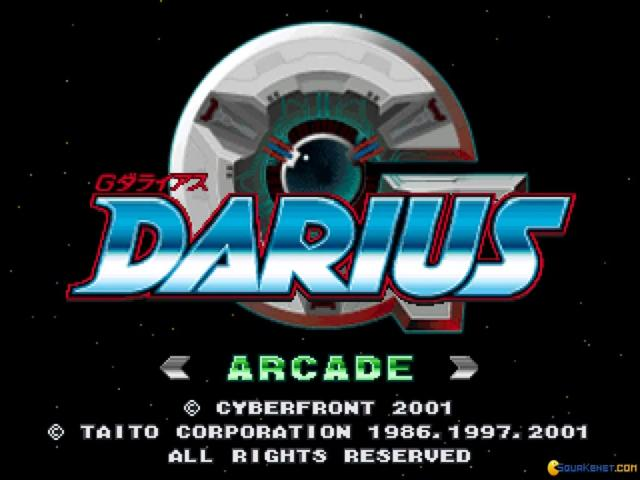 G-Darius - game cover