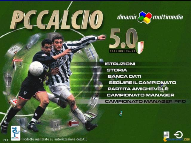 PC Calcio 5 - title cover