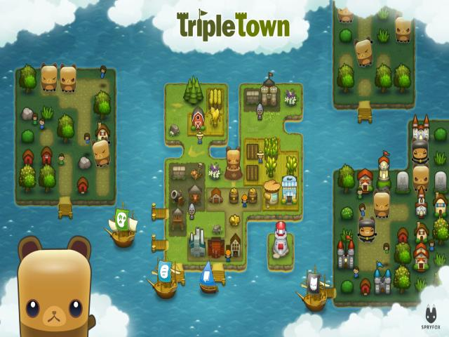 Triple Town - title cover