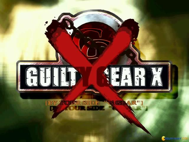 Guilty Gear X - title cover