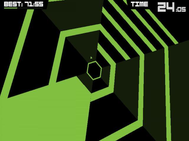 Super Hexagon - title cover