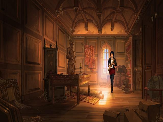Broken Sword 5 - the Serpent's Curse - title cover