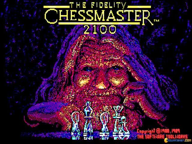 Chessmaster 2100 - title cover