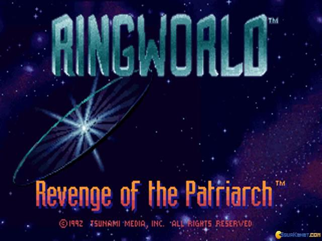Ringworld: Revenge of the Patriarch - title cover