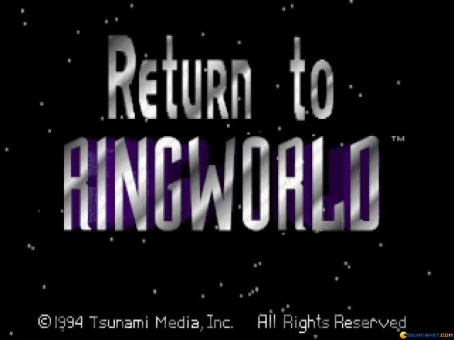 Return to Ringworld - game cover