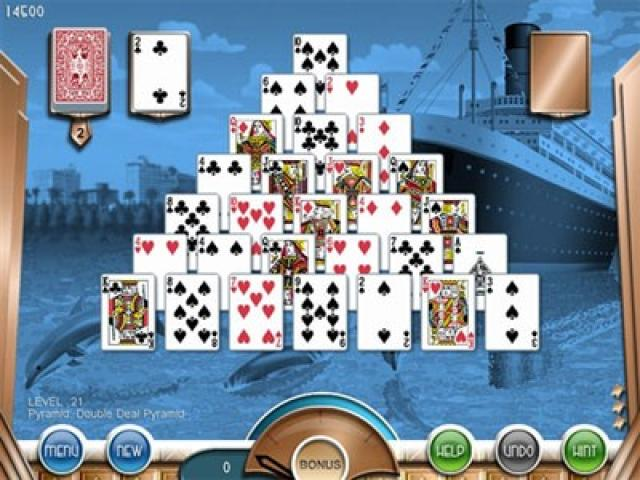 Hoyle Miami Solitaire - game cover