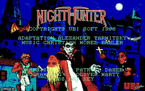 Night Hunter - title cover