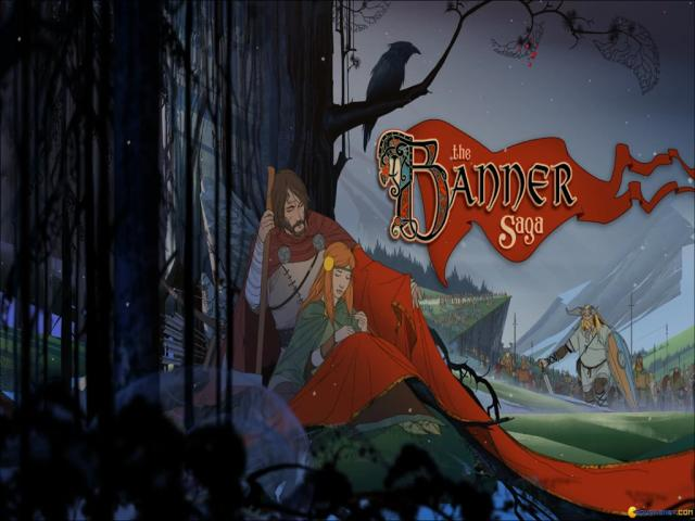 The Banner Saga - title cover