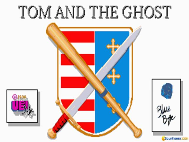 Tom and the Ghost - title cover