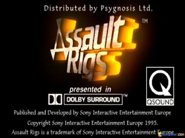 Assault Rigs - title cover
