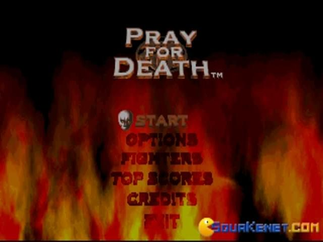 Pray for Death - title cover