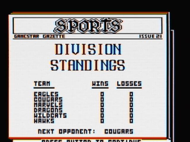 Championship Baseball - game cover