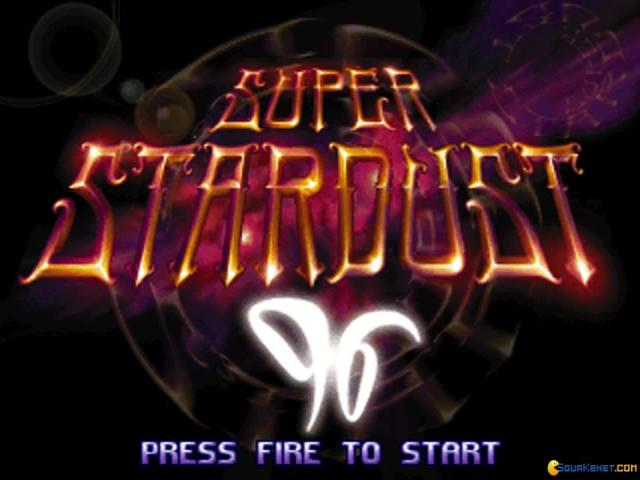 Super Stardust 96 - title cover