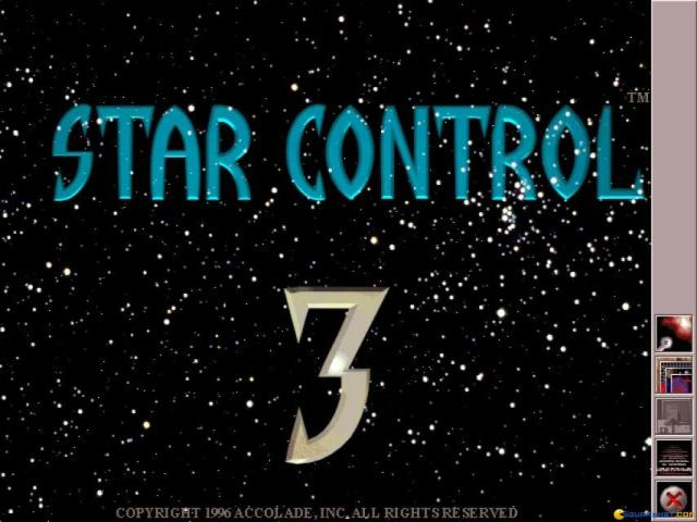 Star Control 3 - title cover