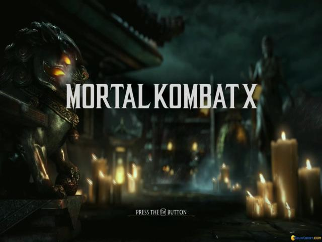 Mortal Kombat X - title cover