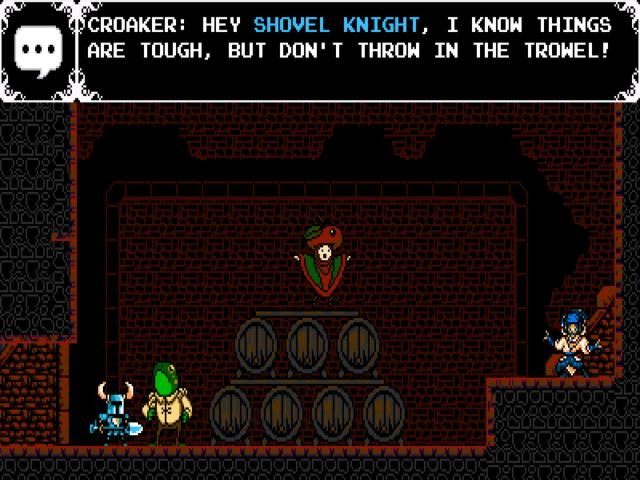 Shovel Knight - title cover