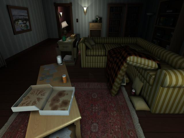 Gone Home - title cover