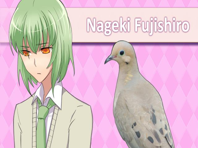 Hatoful Boyfriend - title cover