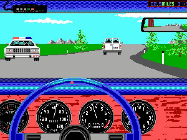 Test Drive II Car Disk: California Challenge - game cover