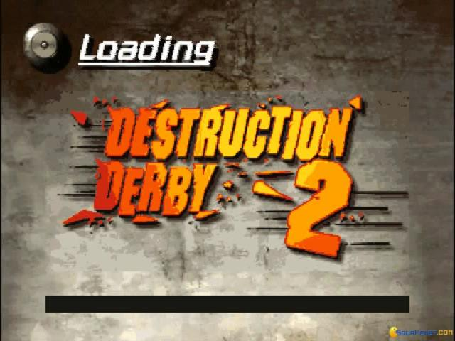 Destruction Derby 2 - game cover